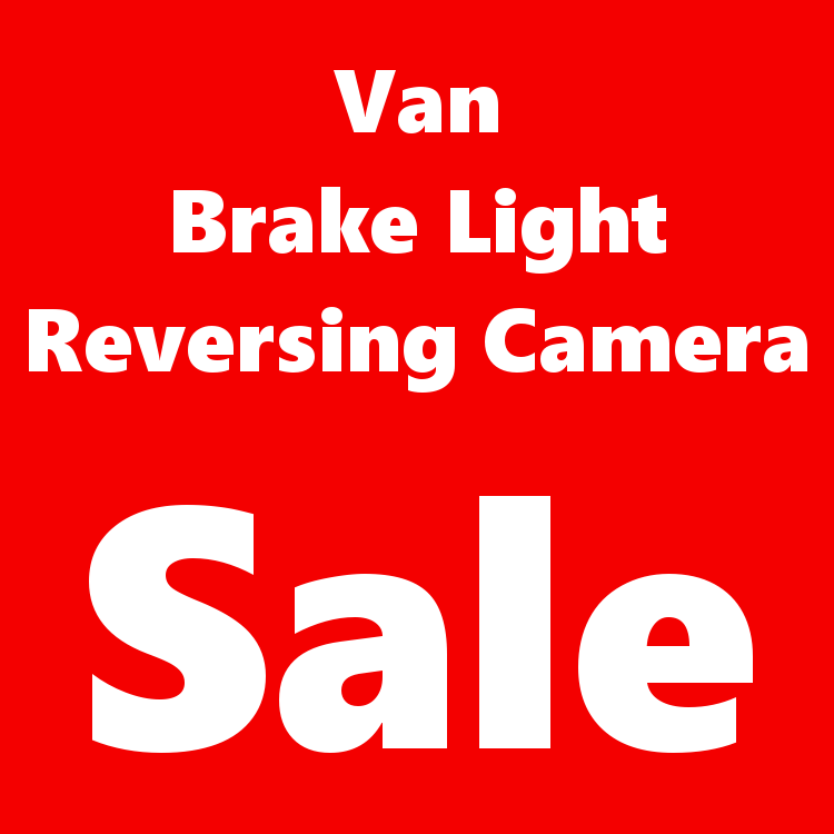 Van Brake Light Camera Sale